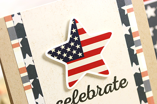 """Patriotic Celebrate Card Set by Courtney Kelley with the """"Stars & Stripes"""" Collection by #echoparkpaper"""