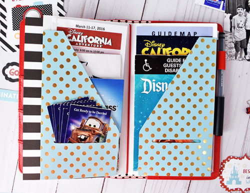 """Wish Upon A Star"" Disney themed Traveler's Notebook by Wendy Sue Anderson for #EchoParkPaper"