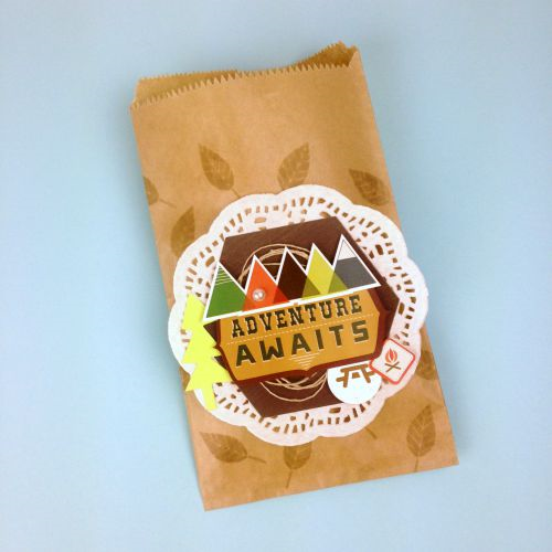 """Camping Treat Bags by Tania Willis with """"The Wild Life"""" Collection, Designer Dies, and Designer Stamps from #EchoParkPaper"""