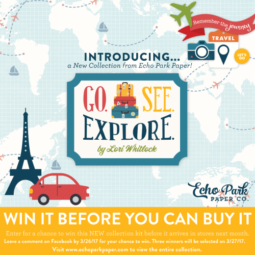 "Win It Before You Can Buy It #EchoParkPaper ""Go. See. Explore"""