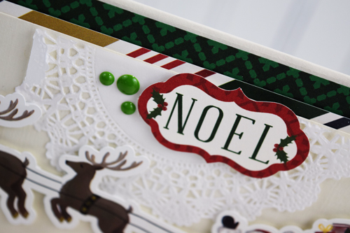 'Twas the night before Christmas Card by Becki Adams for #EchoParkPaper