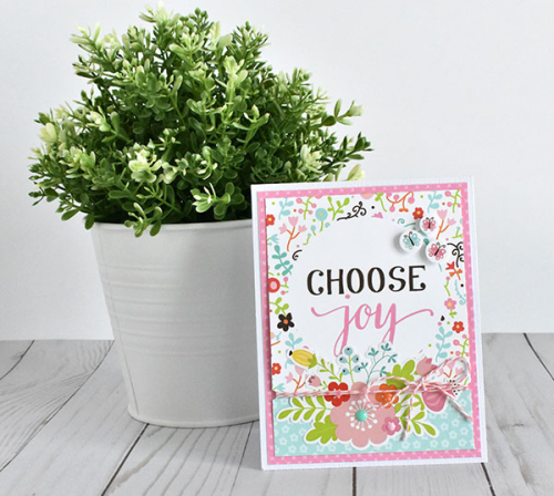 "Quick and Easy Spring cards by Wendy Sue Anderson featuring the ""Hello Spring"" collection by #EchoParkPaper"