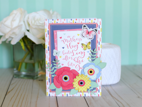 "A Mother's Hug Card by Jana Eubank with the ""I Am Mom"" collection by #EchoParkPaper"