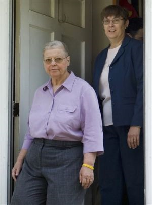 Charlotte Stacey and Margaret Muller