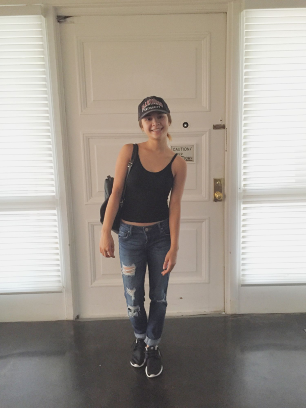 Jeans And Nikes Outfit