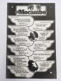 Poster: El Mocambo 1974 concert poster