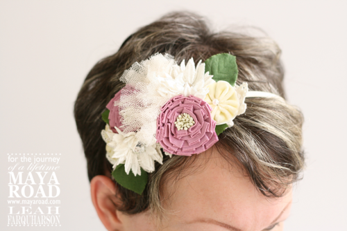 Leah farquharson maya road spring headband