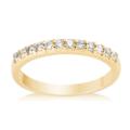 Graduated Diamond Ring in 18K Yellow Gold - �569