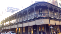 I won't book a flight to New Orleans unless I already have a reservation at Antoine's.