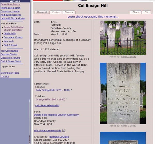 Legacy News: 4 Ways to Research in a Cemetery