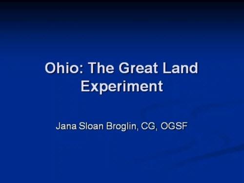 LandExperiment