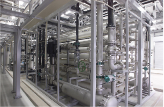 Ultrapure water production system