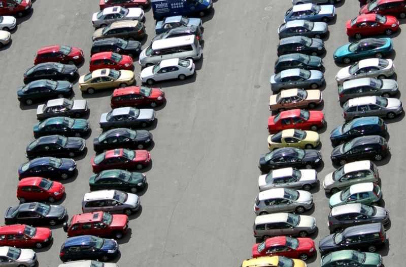 The Secret To Finding A Parking Space On Black Friday