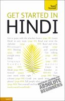 Get started in Hindi
