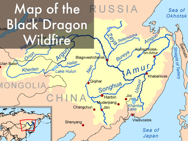 Map of Black Dragon Fire