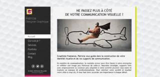 Patricia designer graphique, webdesign