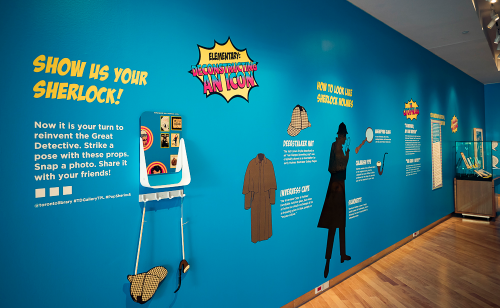 TD Gallery Pop Sherlock Exhibit