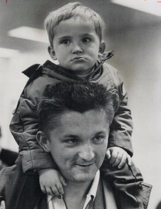 Czech refugees,Jiri Janojsekand son Ivo