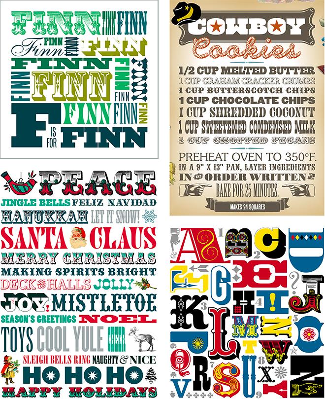 #SFDesignADay, Type Puzzle, Typography, March Design SpoonChallange
