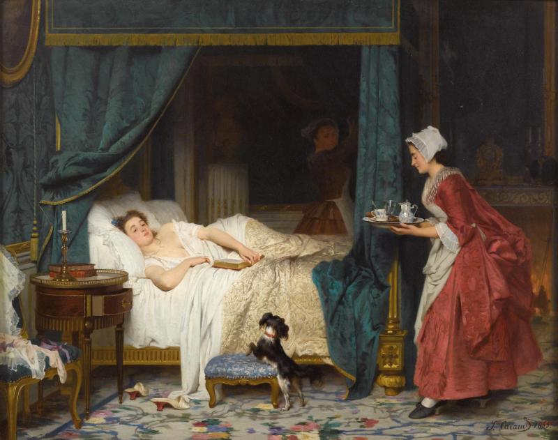 Joseph_Caraud_Am_Morgen_1865