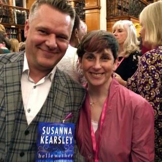 David Headley and Susanna Kearsley