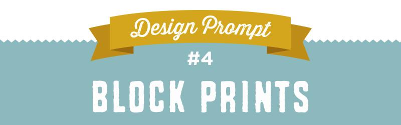 Design-A-Day SpoonChallenge Day 4: Block Prints