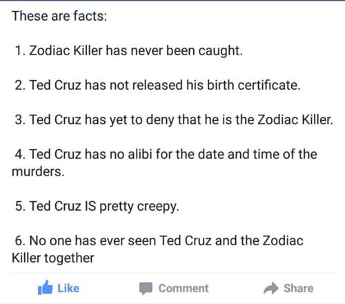 Ted Cruz Zodiac 2