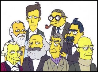 Simpsons philosophers