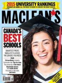 Maclean's 2015 University Rankings