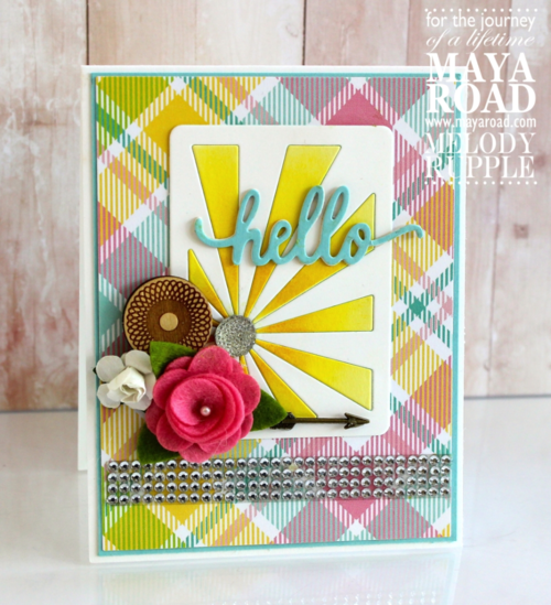 Card with Sunshine ATC
