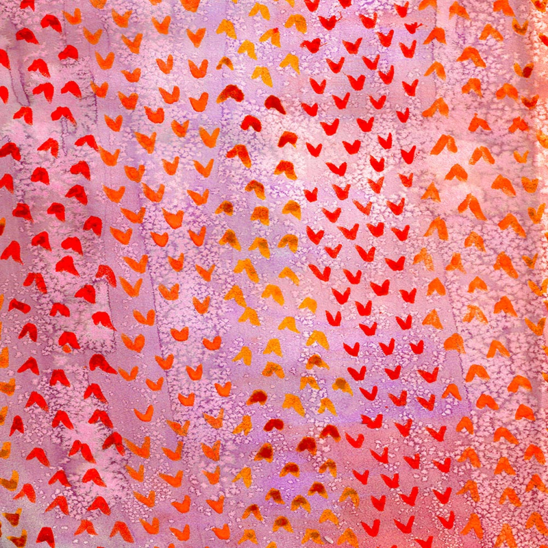 coral watercolor by Taylor