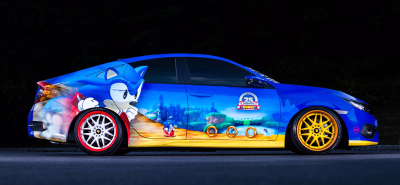 One-of-a-Kind Sonic Civic - Smail Honda Blog