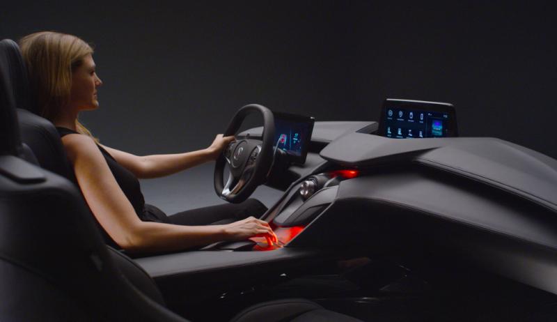 Acura Precision Cockpit Concept - Smail Acura Blog