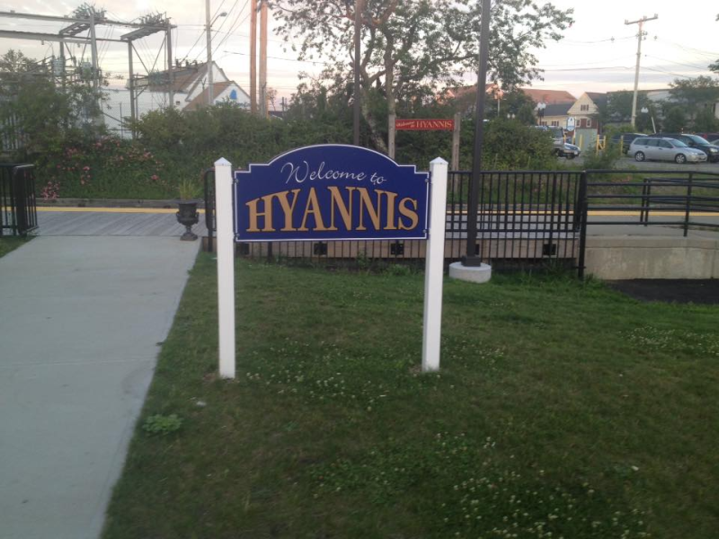 Welcome to Hyannis  July 2015