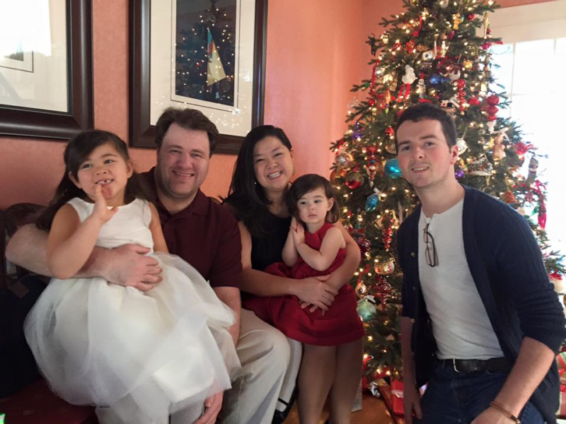 Visiting cousins in Boston for Christmas 2016