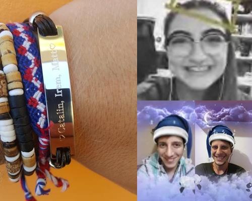 Friendship bracelet and Skype