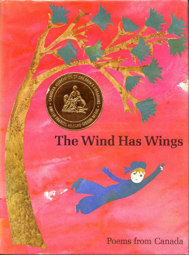 Book cover of The Wind has Wings