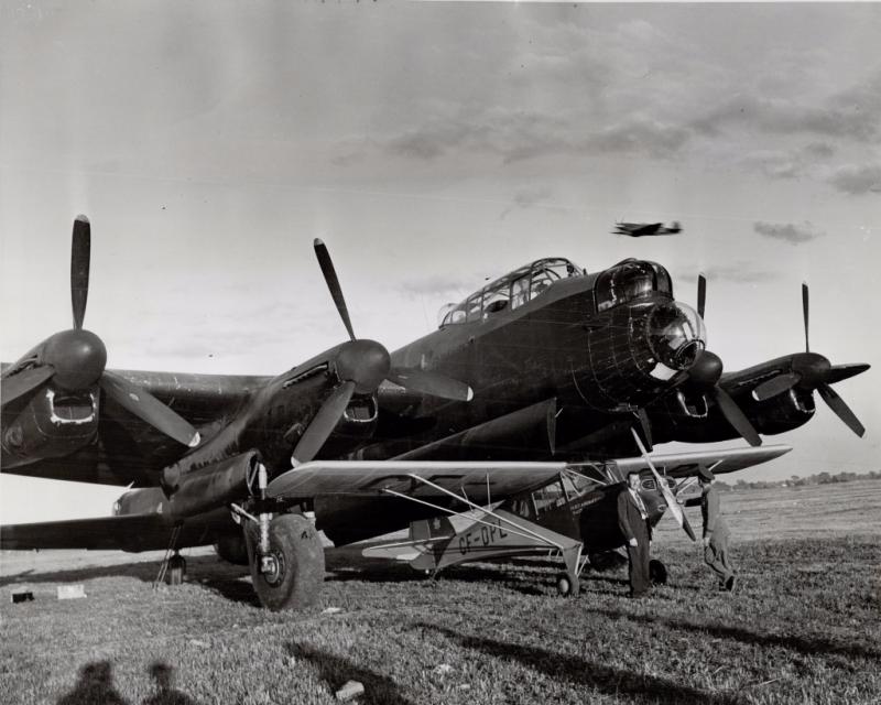 Lancaster and Fleet Canuck 1946